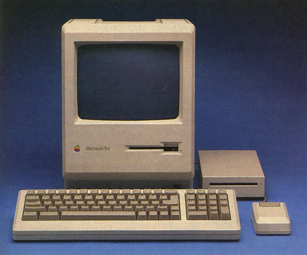 It started coming together with the advent of the Macintosh Plus (1984)