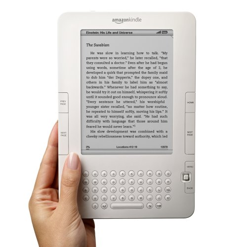 "Early pic of second gen Kindle, ""leaked"" last week"