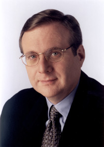 Vulcan Ventures Investor and Microsoft co-founder Paul Allen