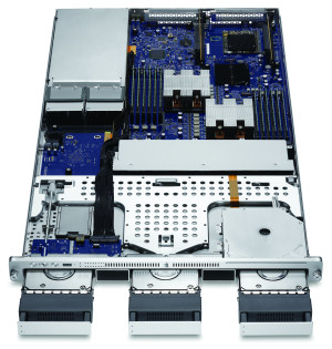 Apple's Nehalem-generation Xserve unit