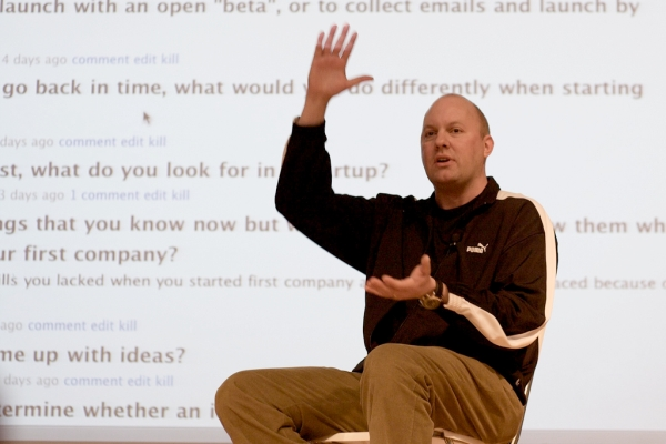 Netscape founder and venture capitalist Mark Andreessen