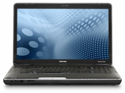 "Toshiba Satellite P500 18.4"" blu-ray notebook"