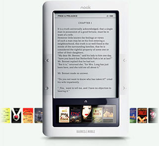 Barnes & Noble mashes up iPhone & Kindle for 'nook' e-reader