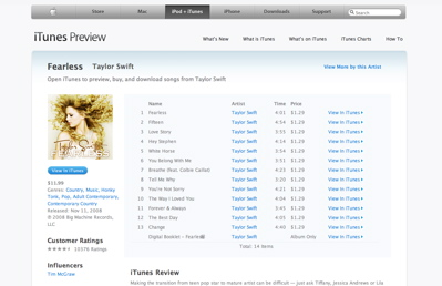 iTunes Preview deson't go far enough to create Web-based option for store