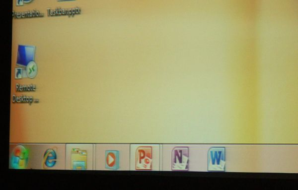 The icons for Office 2010 showed up for the first time at an otherwise unrelated demo, at PDC 2009.