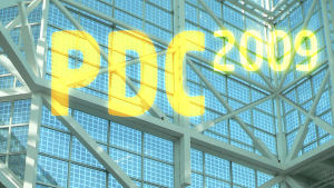 PDC 2009 story banner