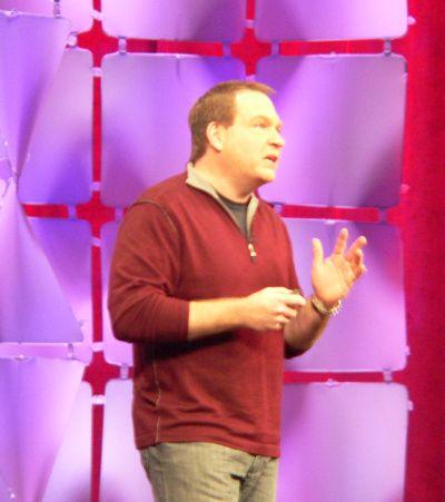 Microsoft Server & Tools President Bob Muglia at PDC 2009 Day 1 keynote.
