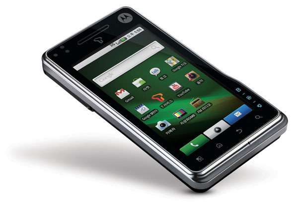 Motorola launches another Multi-touch Android 2.0 device, this time in Korea