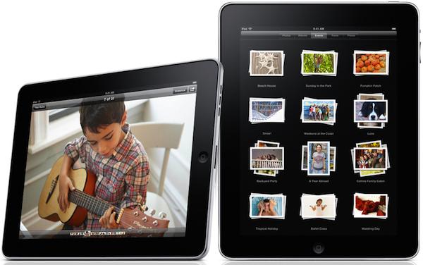 iPad with Kid