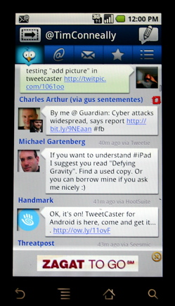 Tweetcaster for Android