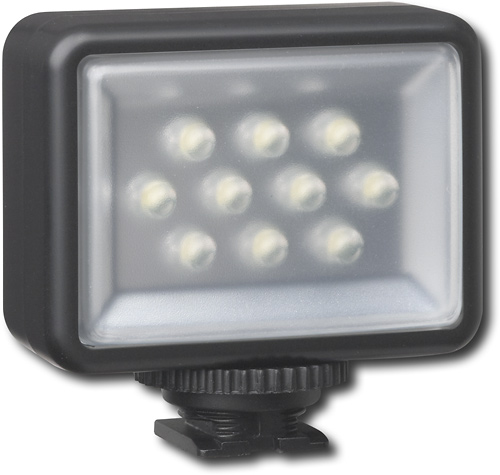 Dynex 9-LED Camcorder light