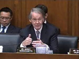 Rep. Ed Markey (D - Massachusetts)