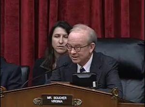Rep. Rick Boucher (D - Virginia)