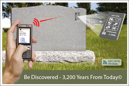 Die-Fi: Communications company unveils wireless tombstones
