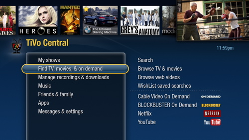 TiVo HD --- TiVo Central