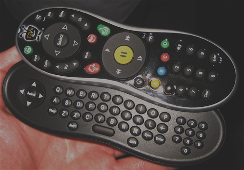 TiVo QWERTY remote