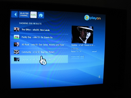 PlayOn does Hulu on the Wii