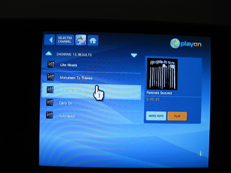 PlayOn accessing music on a local server