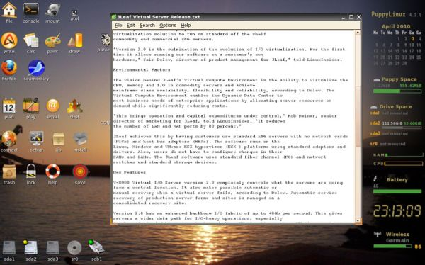 Two Linux-based text editors reveal a market for Notepad work-alikes