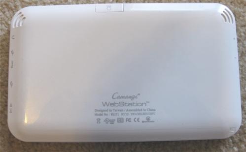 Camangi Webstation (back)