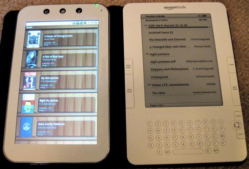 Aldiko vs. Kindle