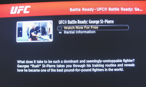 UFC Channel on Roku