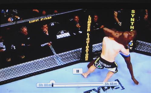 UFC on Roku