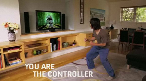 Microsoft's Project Natal 360 motion controller becomes 'Kinect'