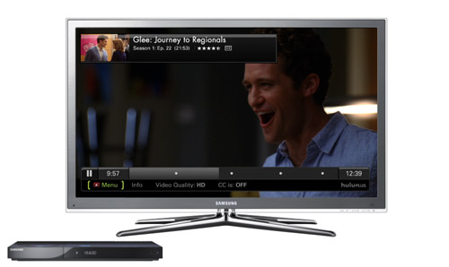 Hulu Plus Samsung TV