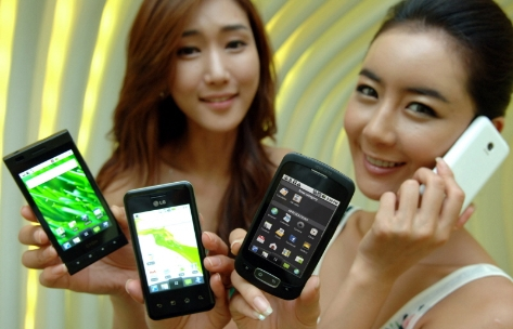 "LG promises ""at least four"" new Android devices in 2010"