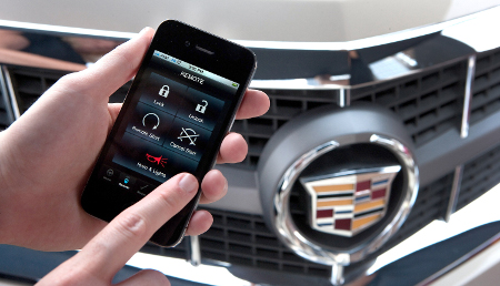 Next year, GM cars will be controllable by mobile phone