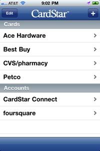 CardStar iOS4