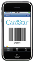Mobile app CardStar smartly ties in with location-based services