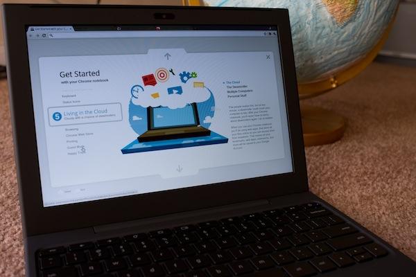 Google's Chrome OS laptop saved my butt