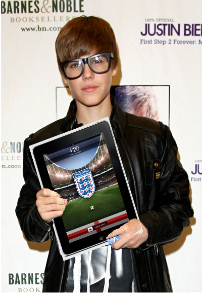 Justin Bieber's World Cup iPad: 2010 in keywords