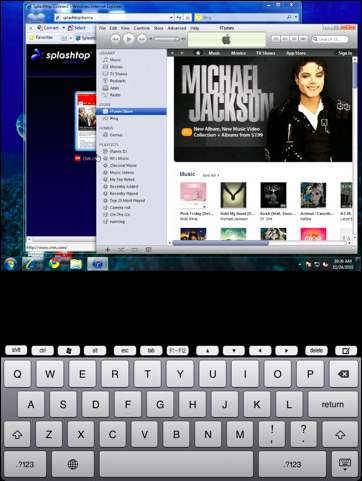 Splashtop Remote Desktop for iPad