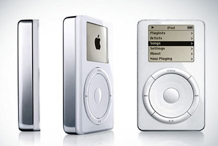 First and Second Generation iPod Design 2001/2002
