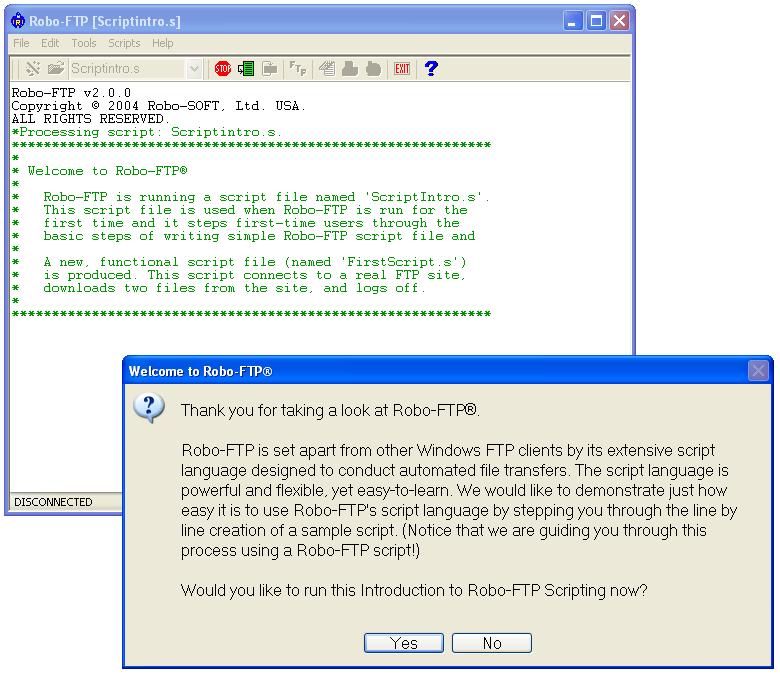 Robo-FTP full screenshot
