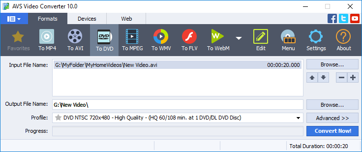 AVS Video Converter 6.3.1.367.