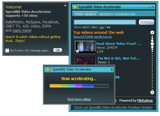 ������ SpeedBit Video Accelerator