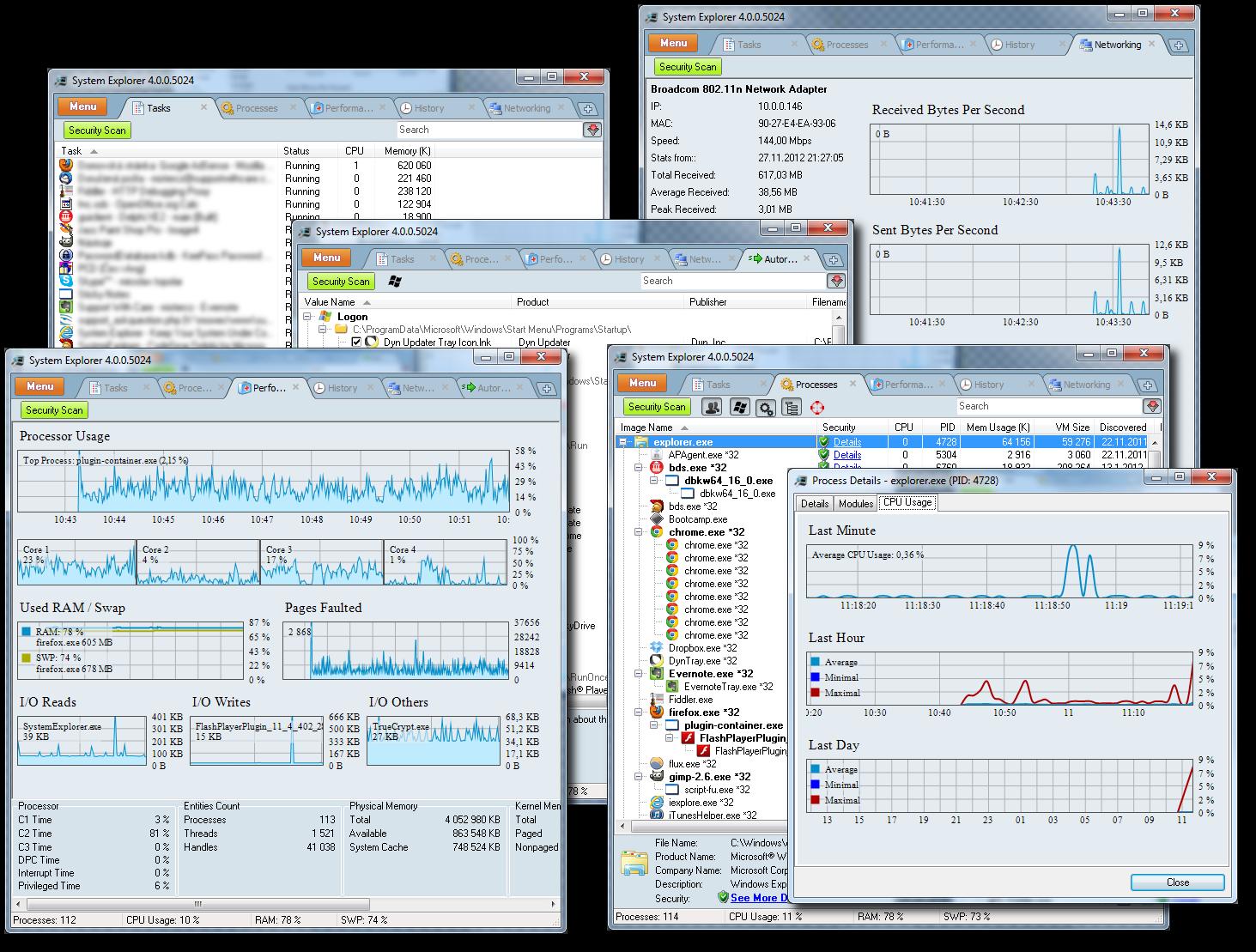 ������ System Explorer Portable 2.1.5.2980 1198517849-2.png