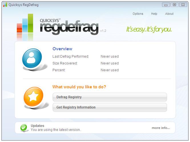 Quicksys-RegDefrag