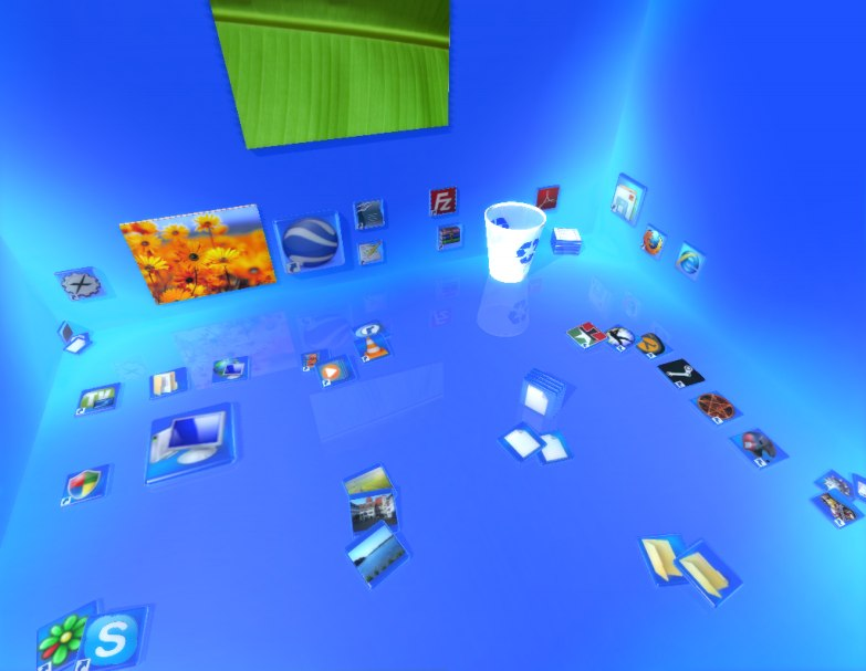 Real Desktop Standart - бесплатная версия программы для