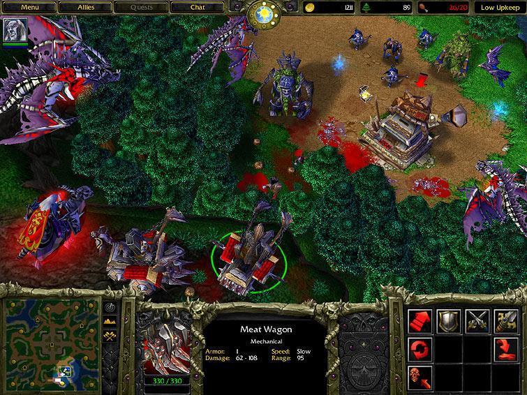 Warcraft III: Reign of Chaos (от англ. warcraft - военное ремесло, reig