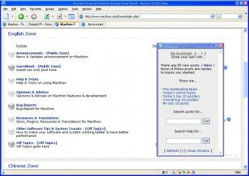 """1029407732 2 - Maxthon 2 """"Windows Trident Plan Motoru Tabanl� Alternatif Web Taray�c�s�"""""""