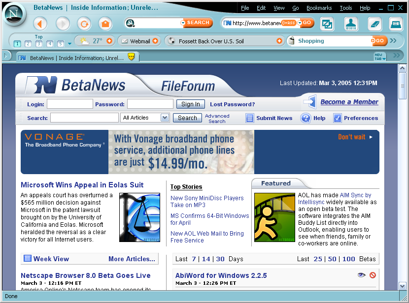 Courtesy of BetaNews: https://images.betanews.com/betanews/articles/1109870204/netscape8beta.png
