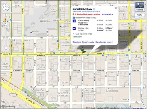 Google Maps can now track buses and trains in real time