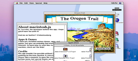 Screenshot of macintosh.js v1.0.6