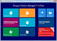 Paragon Partition Manager Free Edition