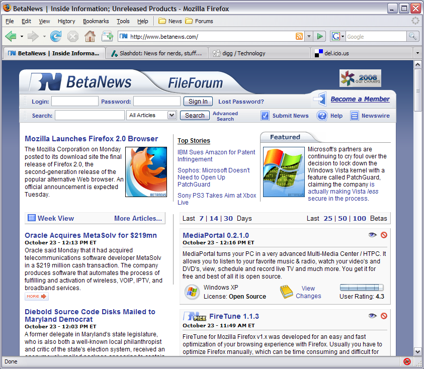 Mozilla Firefox for Windows (32-bit)
